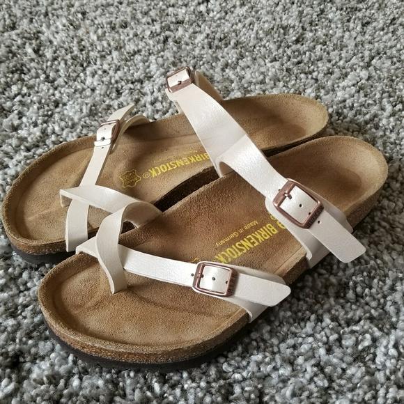 27ae9500e1d8e Birkenstock Shoes - Birkenstock Mayari Antique Lace Birko Flor Sandal